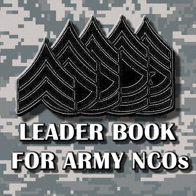 Leader Book for Army NCOs on the App Store