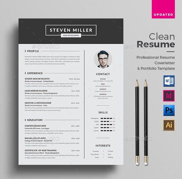 20+ Editable Resume Template Microsoft Word