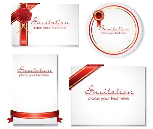 Invitation Card Vector - Download 1,000 Templates (Page 1)