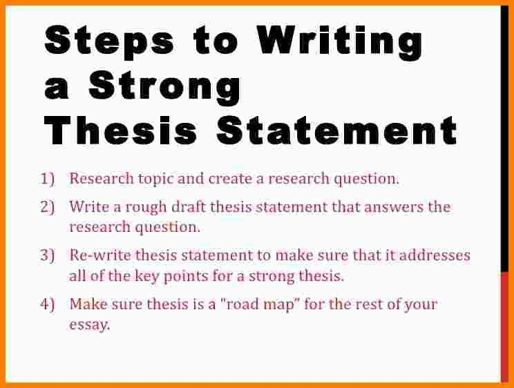 11+ how to write a thesis statement   Statement Information