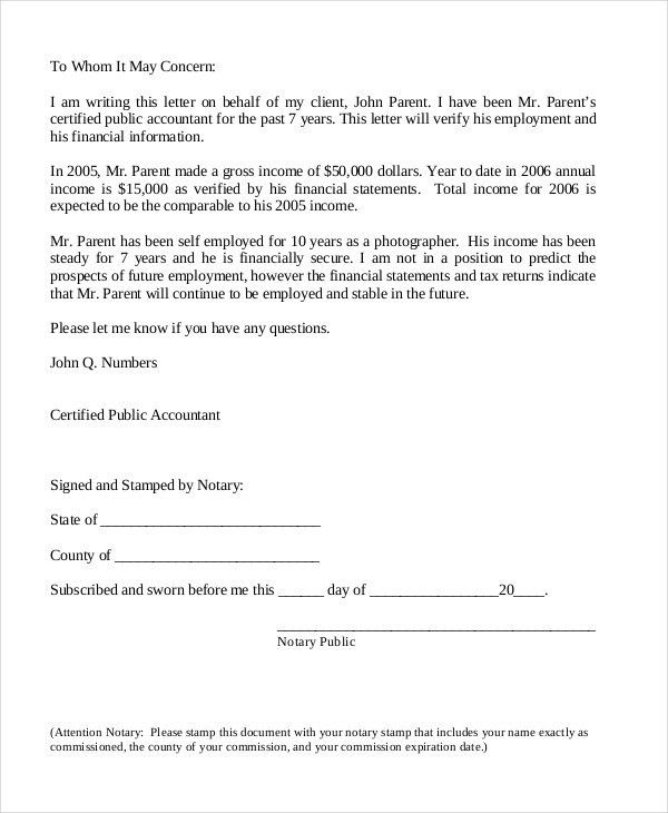 Employment Verification Letter - 8+ Free PDF Documents Download ...