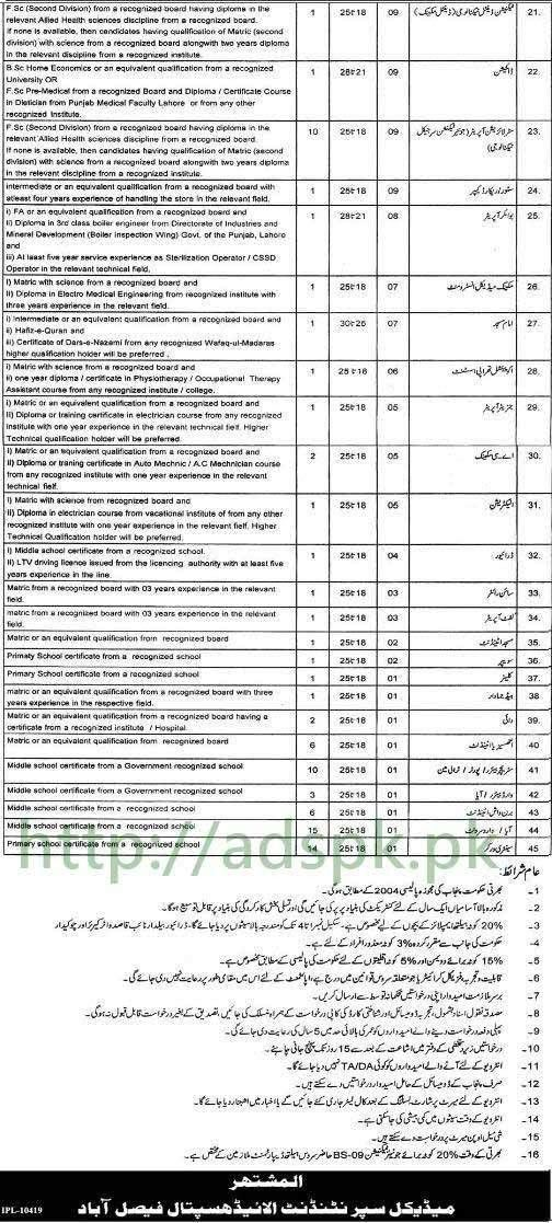 Jobs Allied Hospital Faisalabad Jobs 2017 Boiler Engineer ...