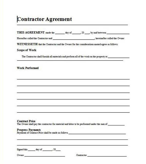 Free Template Residential Roofing Contract | kkk | Pinterest ...