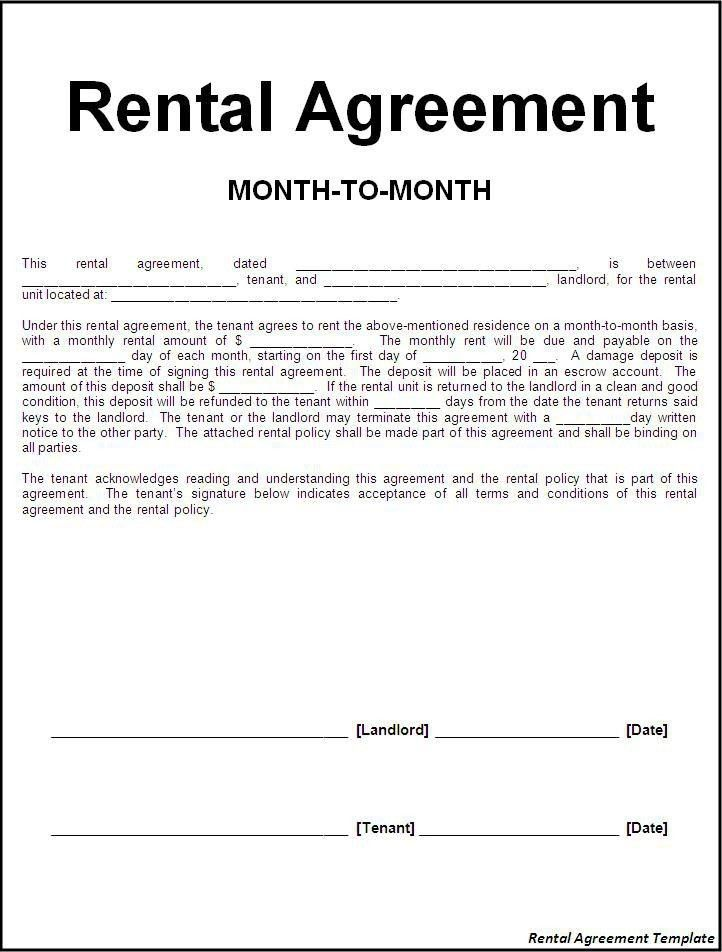Rental Agreement Letter | | jvwithmenow.com