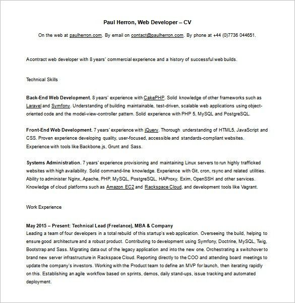 Front End Web Developer Cover Letter. Front End Developer Cover Letter  Front End Developer Cover