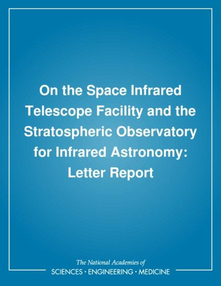 Letter Report | On the Space Infrared Telescope Facility and the ...