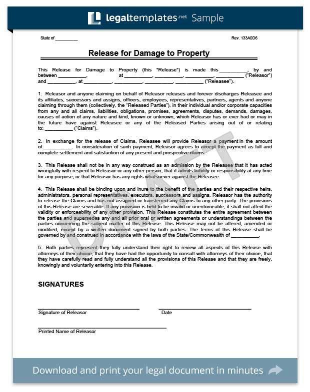 Release of Liability | Create a Free Liability Waiver Form