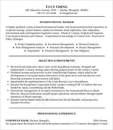10+ Sample Job Resumes - Free Sample, Example Format Download ...