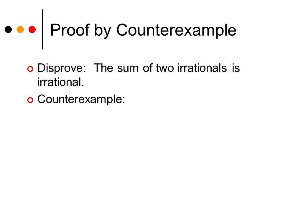 Direct Proof and Counterexample II Lecture 12 Section 3.2 Thu, Feb ...