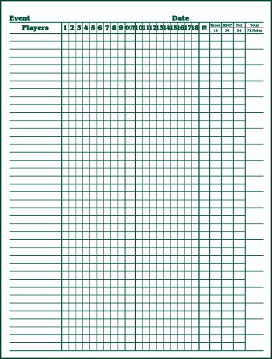 5 Best Images of Golf Skins Sheet Printable - printable golf score ...
