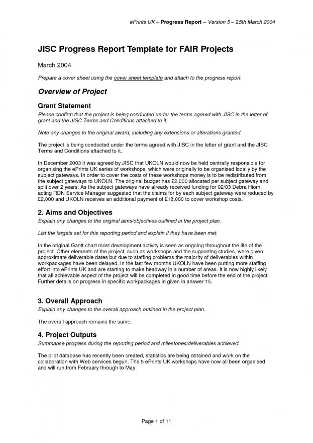 Business Report Example For Students : Business Report Template ...