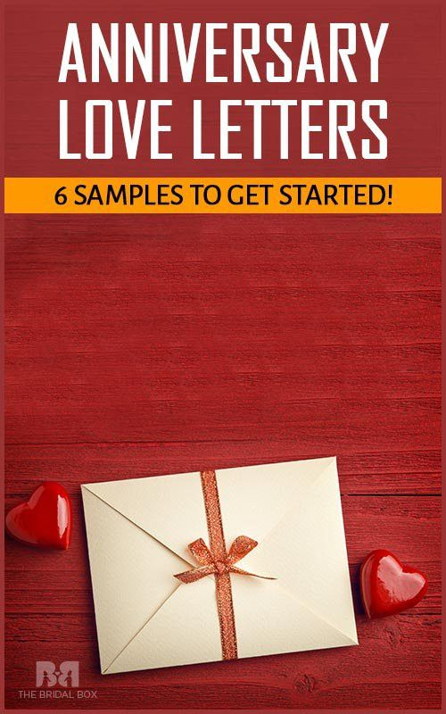 Anniversary Love Letters – 6 Samples To Get Started!