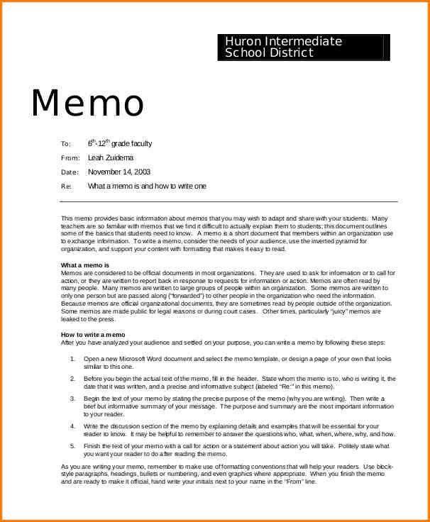6+ professional memo template | writable calendar