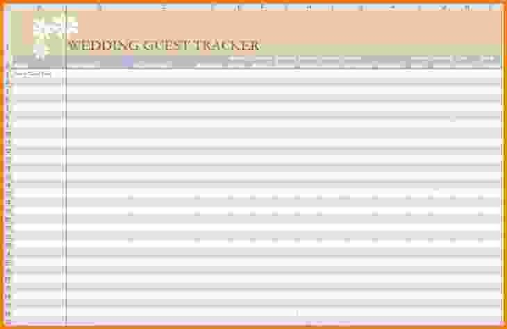 Wedding Guest List Excel.wedding Invitation List Tracker.jpg ...