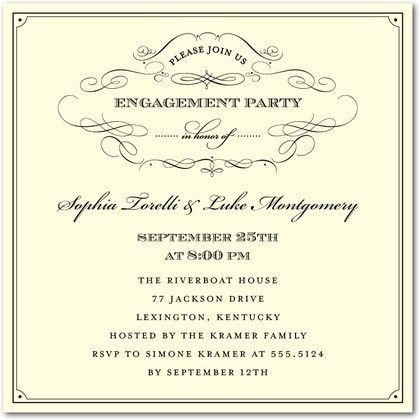 Incredible Funny Engagement Party Invitation Wording Follows ...