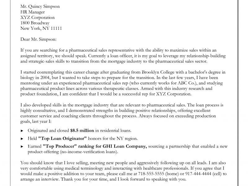 Strikingly Ideas Career Change Cover Letter Samples 7 Sample - CV ...