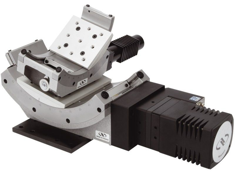 High Precision Motorized Goniometric Cradles