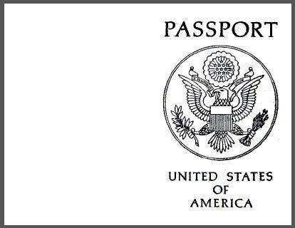 Printable blank passport and all you need to know to host your own ...