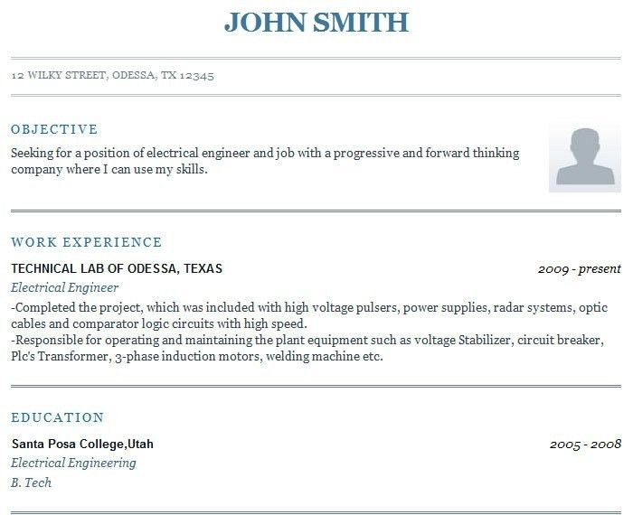 Resumes Online Examples. Free Resume Makers Online Resume Maker ...