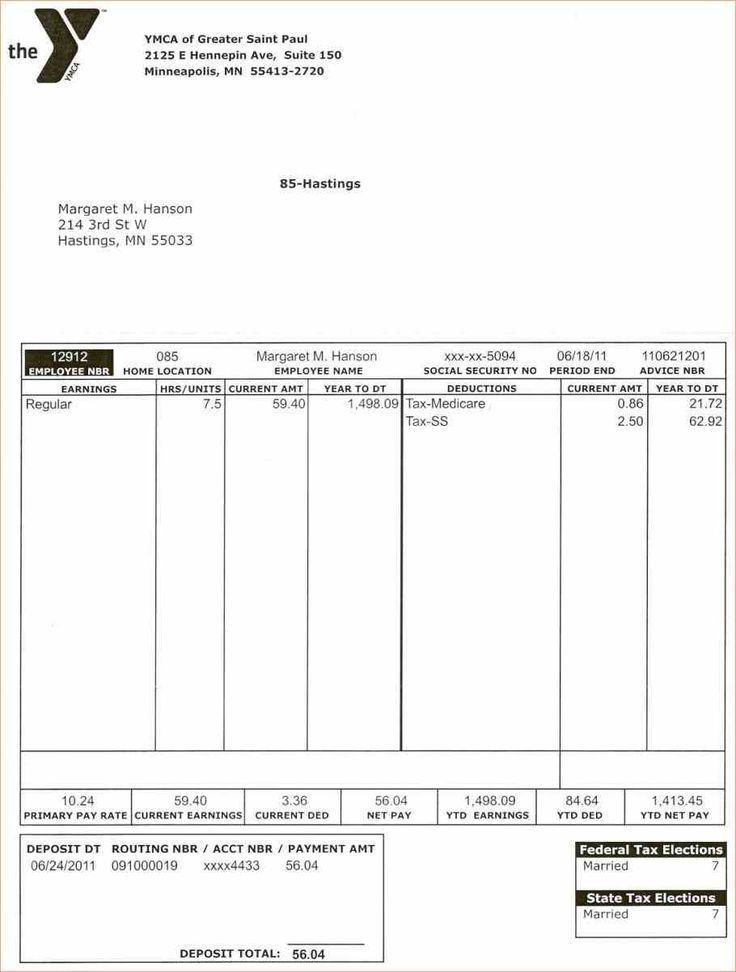 Payment Advice Template. salary slip format in excel and word ...