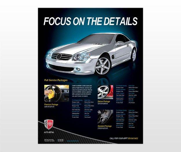 5 Best Images of Car Detailing Flyer - Car Detailing Flyer ...