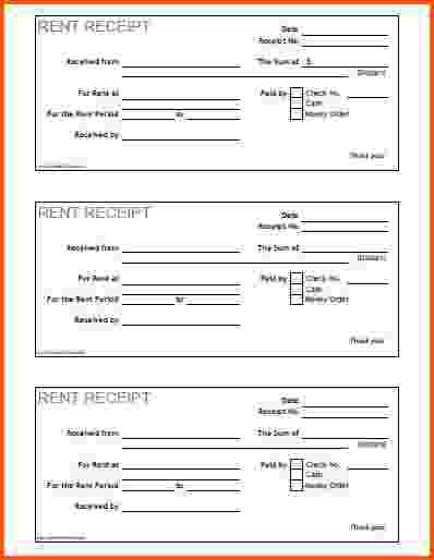 10+ rent receipts | Survey Template Words