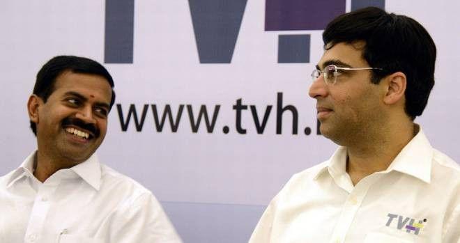 TVH ropes in Viswanathan Anand as brand ambassador - The Hindu
