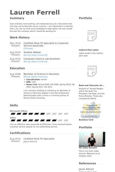 Customer Service Associate Resume samples - VisualCV resume ...
