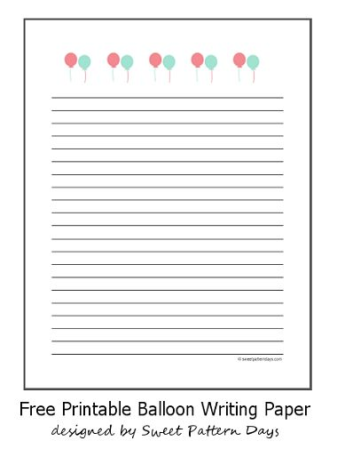 Printable Fall Themed Writing Paper | Stationery Printables ...