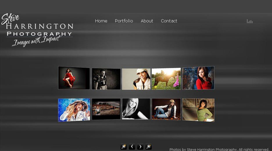 photography website design templates - Google Search | New website ...