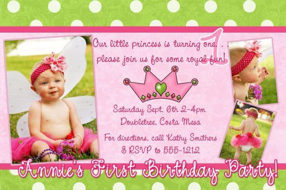 Sample Invitation Birthday First Birthday Invitation Wording And - 1st birthday invitation card format marathi