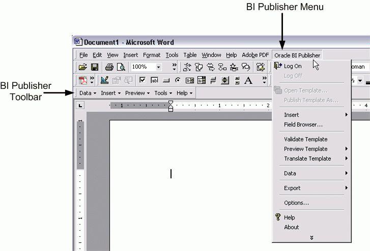 microsoft publisher menu templates