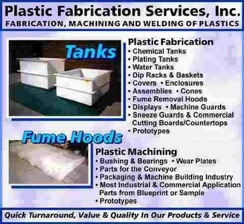 Plastic Tanks, Plastic Fabrication Services, Inc. Plastic Tanks ...