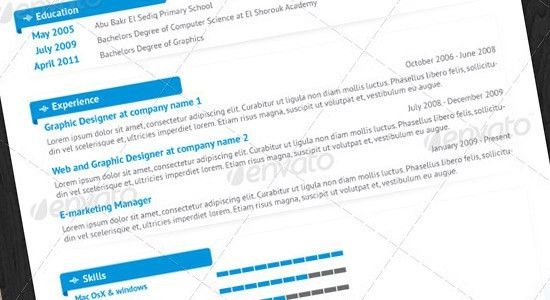 10 Tips on Creating a Successful Design Resume -DesignBump