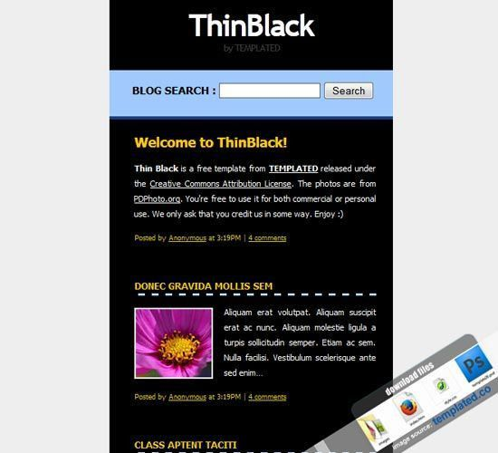 204 best Free Website templates sample images on Pinterest | Free ...