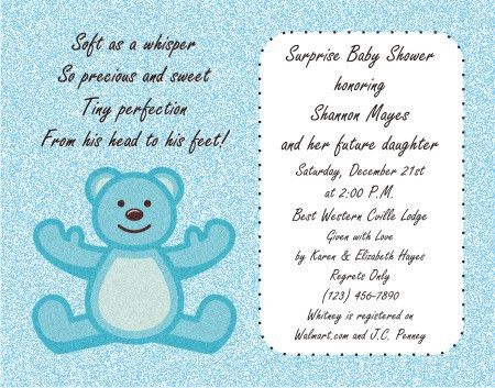 Baby Shower Invitation Templates | Graphics and Templates