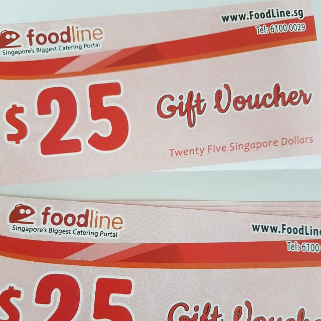 Foodline Discount Vouchers ($25 Free), Community on Carousell