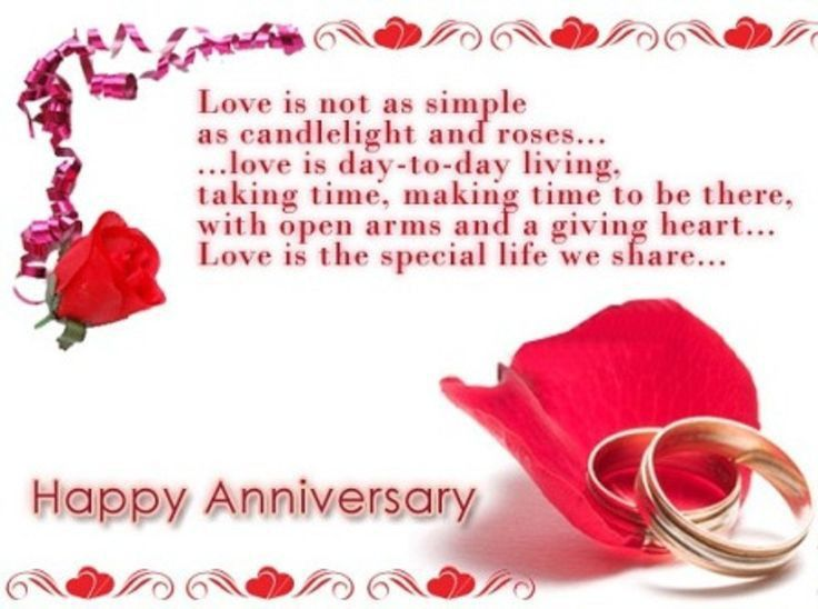 wedding anniversary card for wife with cute words | Sang Maestro