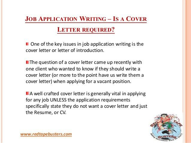 Job Application Writing - Importance of Cover Letter