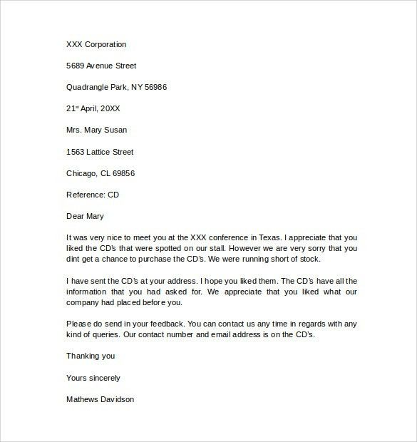 Business Letter Template - 11 + Free Documents to Download in PDF ...