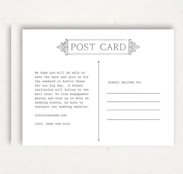 15+ Postcard Templates - PSD, Vector EPS, AI Format | Free ...