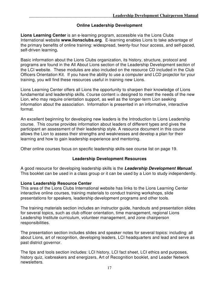 Microsoft Word - n. Leadership Chairperson Manual 2009-10 EN