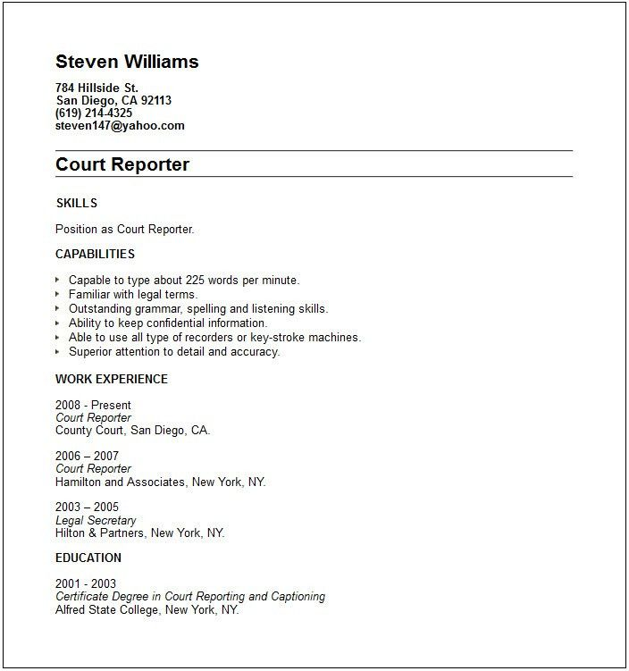 Short Objective For Resume Short Sample Resume Examples - Resume ...