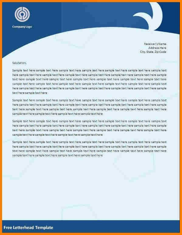 Free Letterhead Templates Download - cv01.billybullock.us