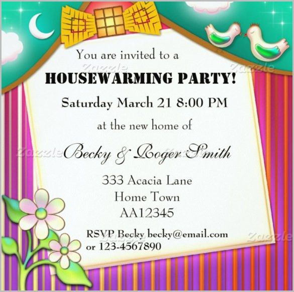Sample Invitation Cards For Housewarming Ceremony | PaperInvite