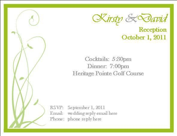 Rsvp Invitation Template | Best Template Collection