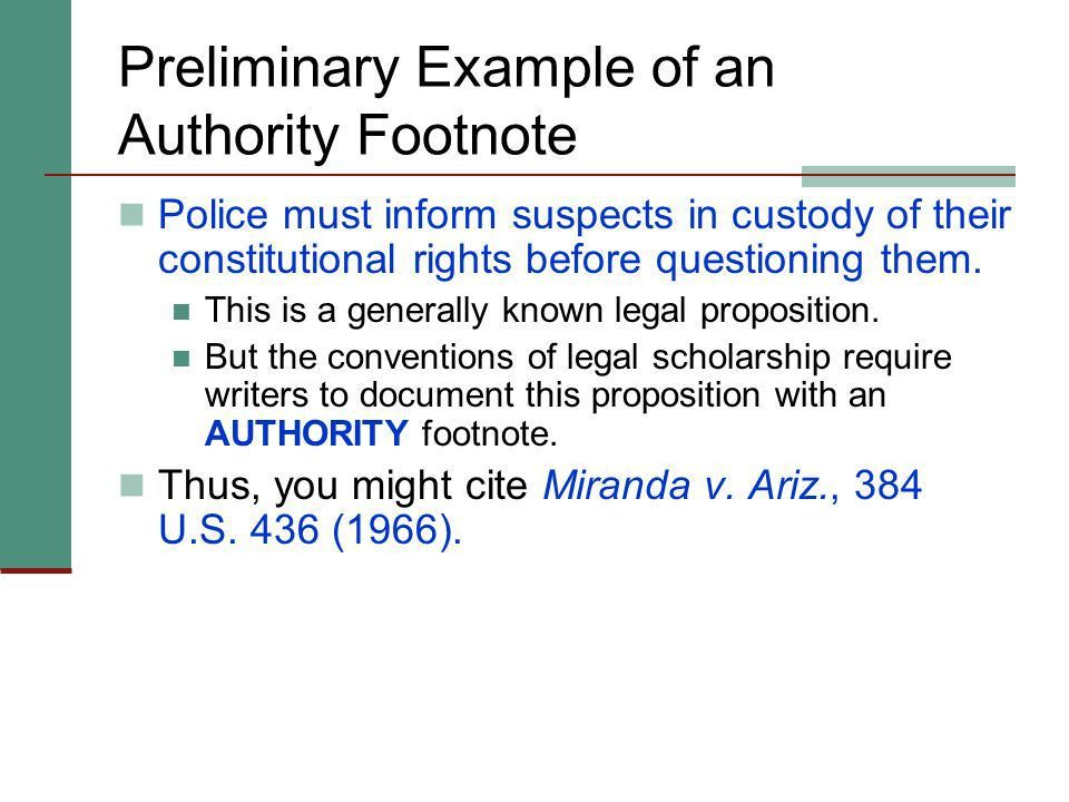 Footnoting Law Review Competition Papers - ppt download
