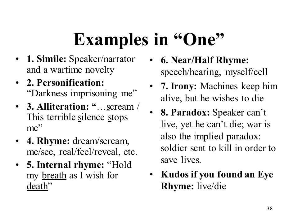 Poetry Terms & Examples - ppt video online download