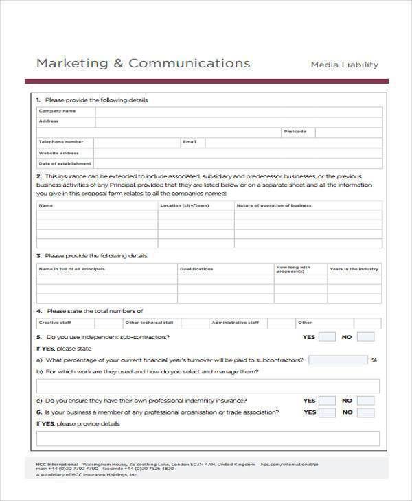 Marketing proposal samples [template.billybullock.us]