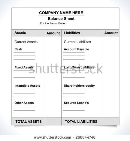 Balance Sheet Stock Images, Royalty-Free Images & Vectors ...